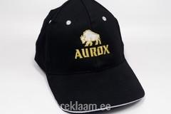 Aurox logoga nokamüts