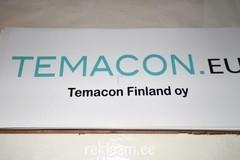 Temacon OY reklaamsilt