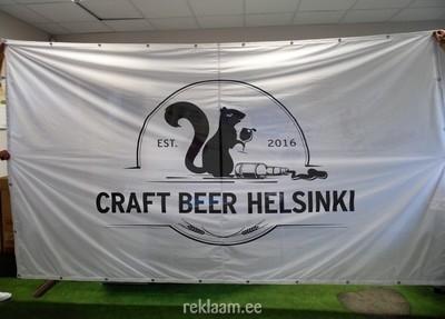 Crafr Beer Helsinki reklaambänner