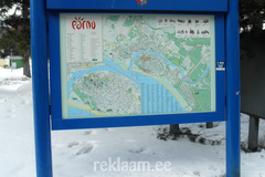 Pärnu linna infostend