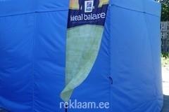 Logoga reklaamlipp