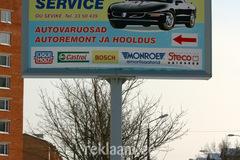 Lux Auto reklaam Kohtla-Järvel