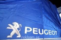 Peugeot reklaamtelgi trükk