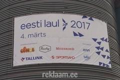Eesti Laul 2017 reklaambänner