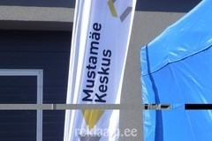 Mustamäe Keskus reklaamlipp