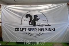 Craft beer Helsinki reklaamlipp