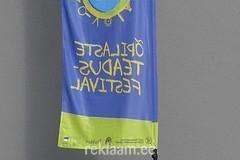 Õpilaste teadusfestival reklaamlipp