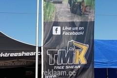 TMK tree shear reklaamlipp