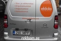 Eldola reklaamkleebised autole