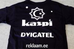 Kaspi Dvigatel logoga t-särk