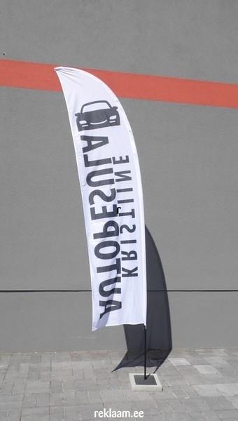 Kristiine Autopesula reklaamlipp