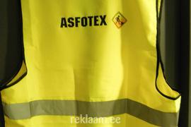 Astofex logoga ohutusvest