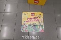 Reklaamkleebised põrandal - Lego