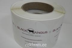 Logokleebised - Black Angus