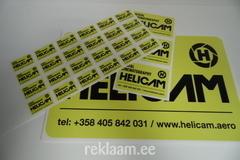 Reklaamkleebised - Helicam
