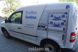 Auto reklaamkleebised - Provan