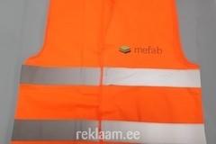 Helkurvest logoga - Mefab