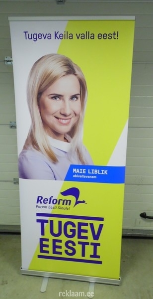 Roll up stend - Reformierakond