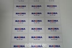 Logokleebsised - Maxima