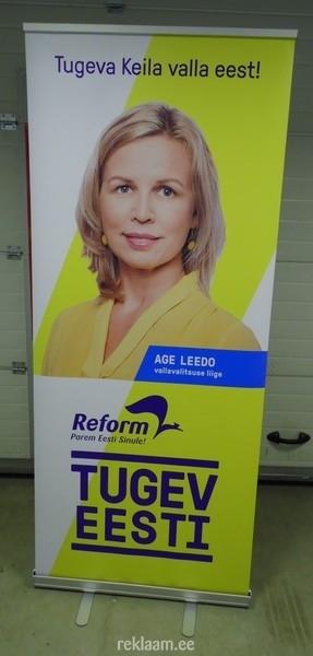 Roll up bänner - Reformierakond