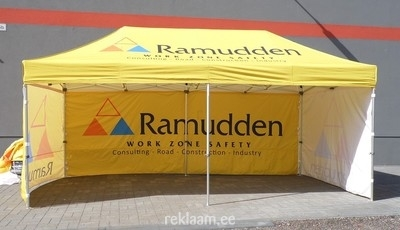 Reklaamtelk trükiga - Ramudden