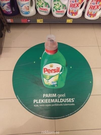 Põrandakleebised -Persil