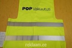 Ohutusvest logoga - POP Vakuutus