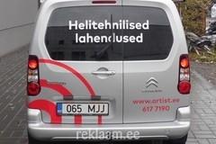 Reklaamkleebised autole - artist.ee