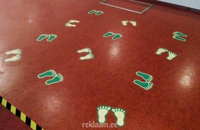 Põrandakleebised