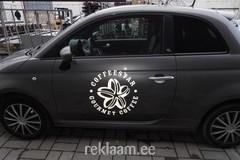 Logokleebis autole - coffeestar