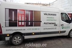 Reklaamkleebised kaubikul - Juta & Kaido OÜ