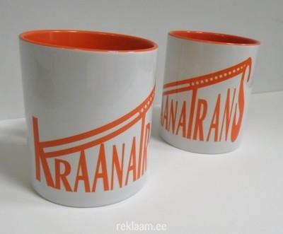Logoga kruusid - KraanaTrans