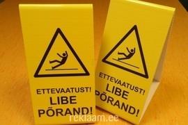 Hoiatussildid - Libe põrand