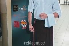 Freesitud inimese kujuga reklaam