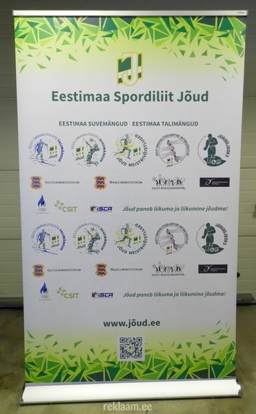Exclusive roll up - Eestimaa Spordiliit Jõud
