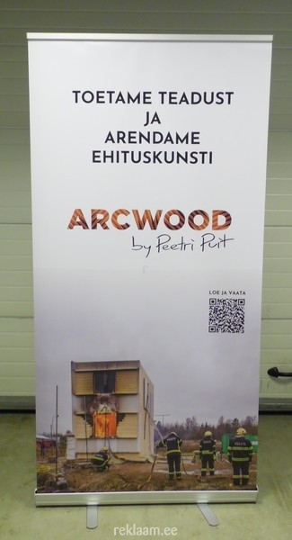 Roll up stend - Arcwood