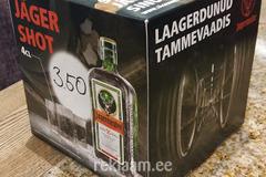 Lauareklaam - Jäger shot