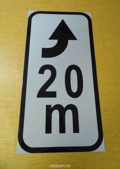 Liiklusmärgi lisatahvel