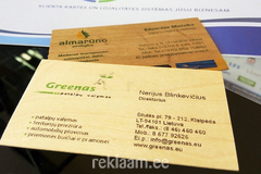 Puidust Visiitkaardid / Wooden cards