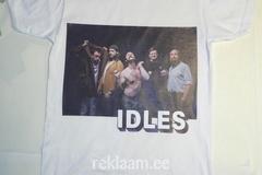 T-särk pildiga - IDLES