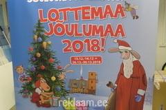 Roll up stend - Lottemaa Jõulumaa