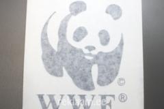 Siirdekilel kleebis WWF