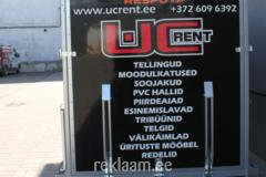 Haagisekleebis UCRent