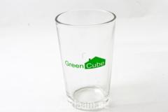 Joogiklaas Green CUBE