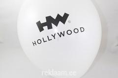 Õhupall Hollywood, valge