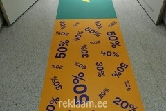 Super Sale põrandakleebis