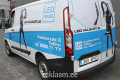 Autokleebised LED House