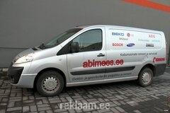 Auto reklaamkleebised Abimees
