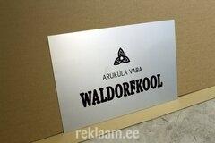 Fassaadisilt Aruküla Vaba Waldorfkool