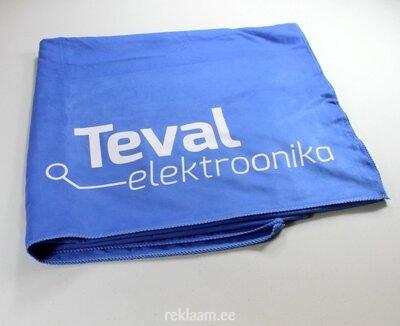 Mikrofiiber rätik, sinine, Teval Elektroonika